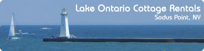 Lake Ontario Cottage Rentals - Sodus Point, NY